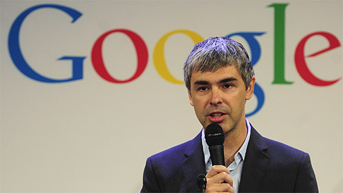 Google CEO Larry Page